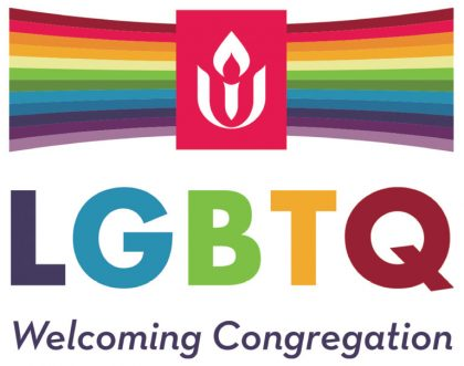 We are an LGBTQ Welcoming Congregation