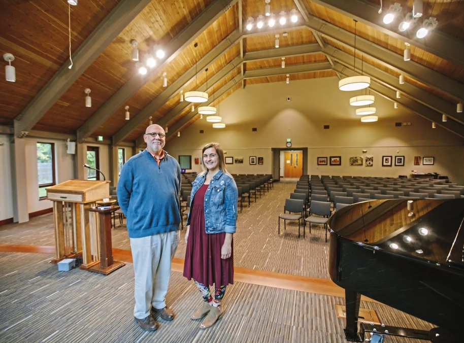 Rev Jim and Jen from newspaper article