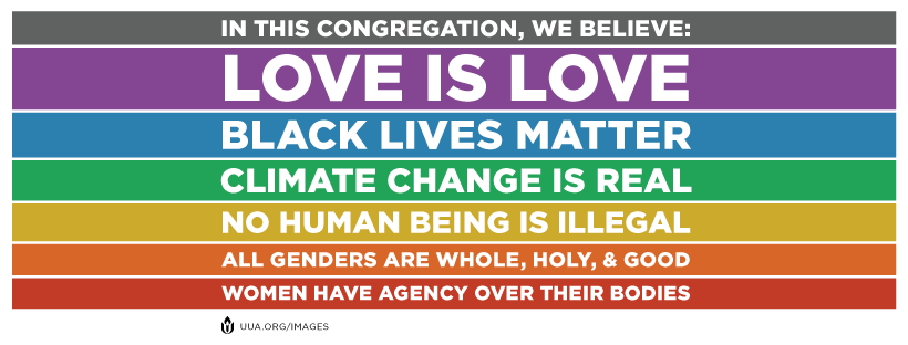 In this congregation, we believe love is love.